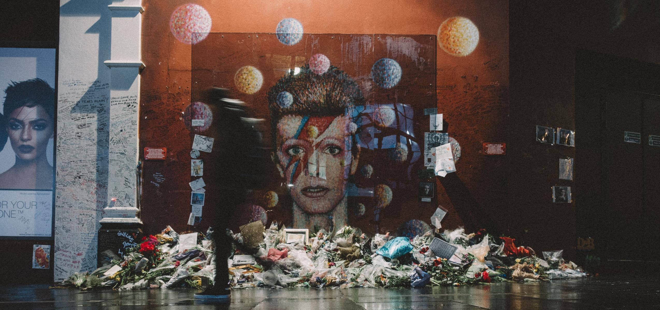 Memorial de David Bowie